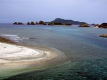 Saku original rocks in Geruma island